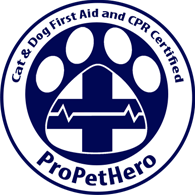 I got Cat and Dog First Aid and CPR certified at ProPetHero.com